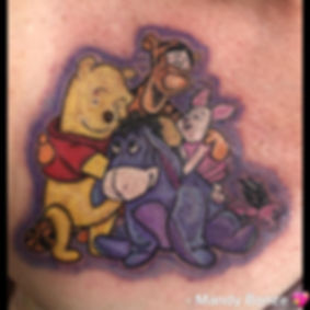 Winnie the Pooh and friends I made  on a