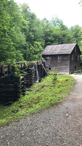Old Mill Scene (Print)