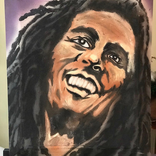 Bob Marley Canvas Oil Painting