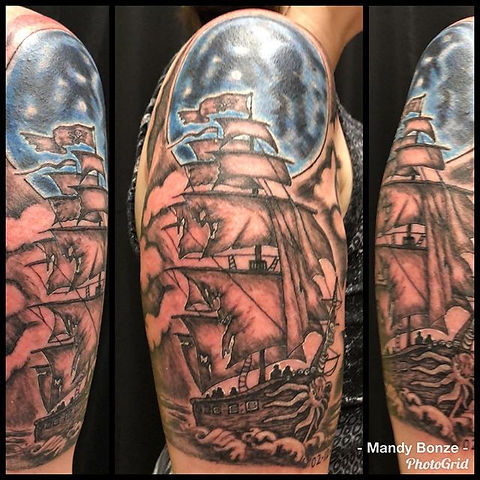 Custom pirate ship I made for _hvymtlchi