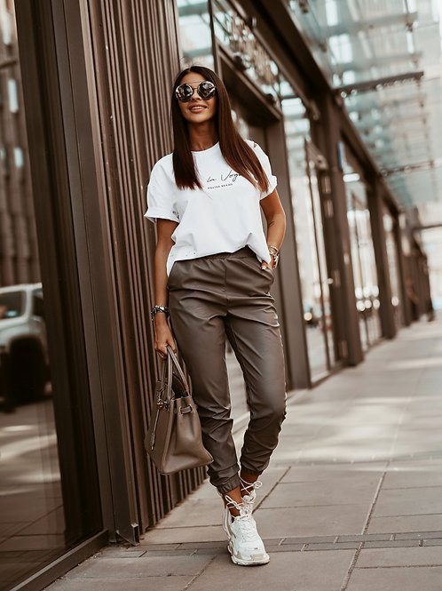 TROUSERS LEATHER AUTUMN