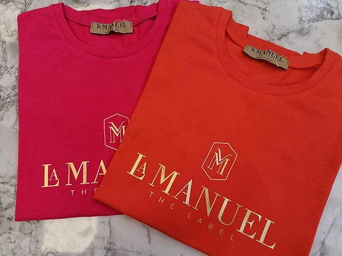 T-Shirt La Manuel GOLDEN LOGO
