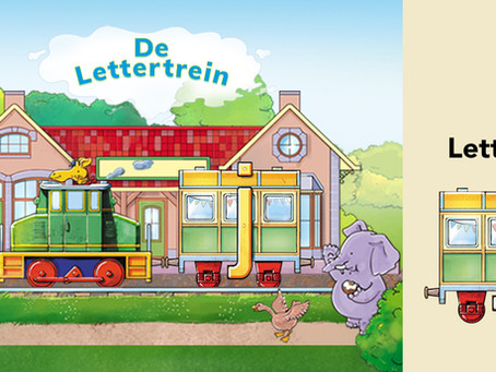 Leer de letter J met De Lettertrein