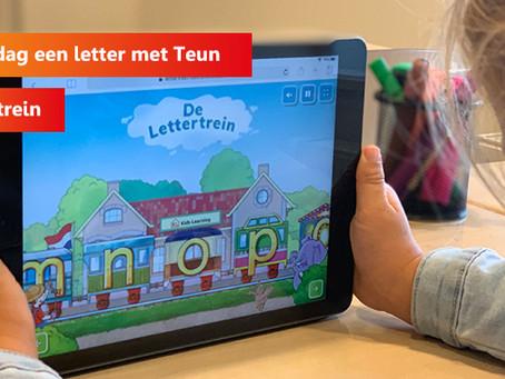 Leer elke dag een letter met Teun