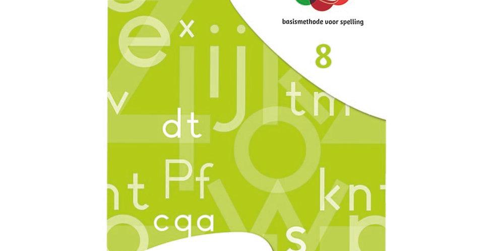 Spelwijzer - werkschrift 8 (set van 5 ex.)