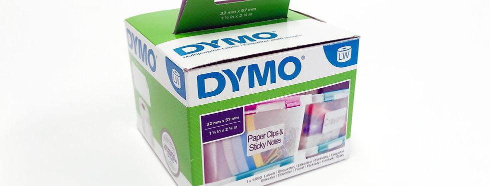 Dymo 11354 etiketten (rugetiket)