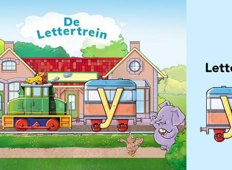De Lettertrein neemt je mee naar de letter Y
