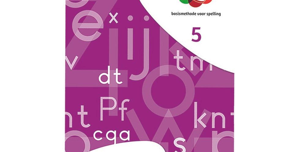 Spelwijzer - werkschrift 5 (set van 5 ex.)