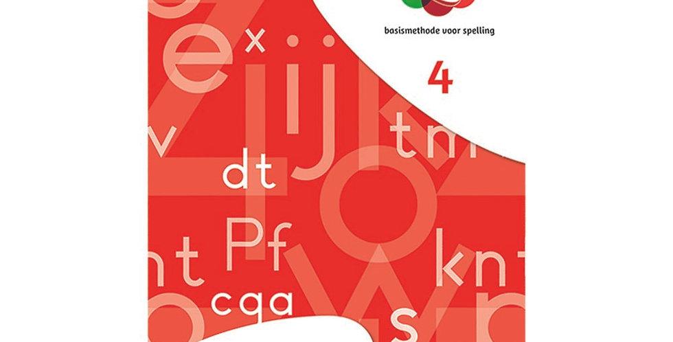 Spelwijzer - werkschrift 4 (set van 5 ex.)