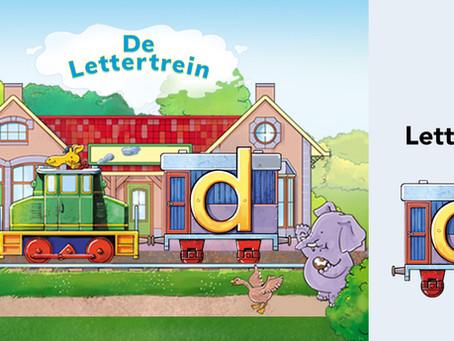 Leer met Teun de letter D