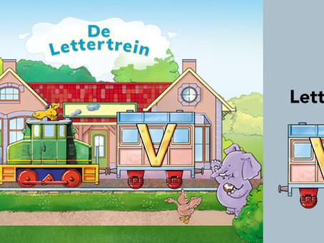 Stap in en leer de letter V