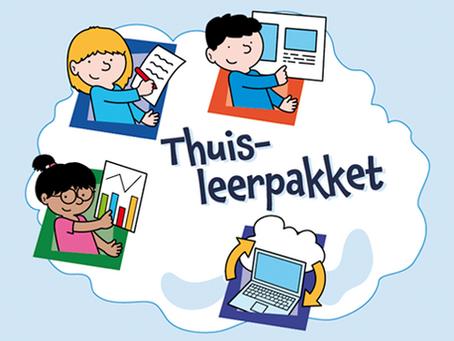 Onlineklas Thuis-leerpakket vanaf 10 mei niet meer verkrijgbaar