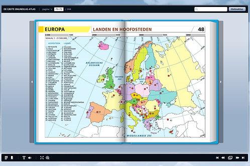Onlineklas Topografie leerkrachtmodule