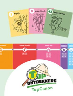 TopOntdekkers - TopCanon tijdlijn