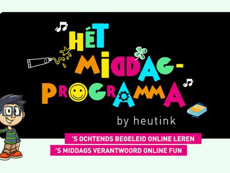 Online fun voor kinderen van 8 t/m 12 jaar in de middag