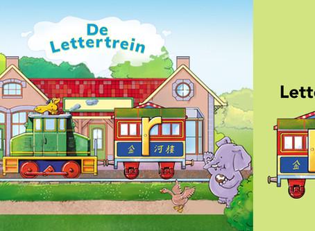 Leer hier de letter R met De Lettertrein