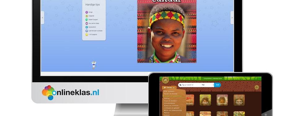 Onlineklas lezen - Digitale jaarlicentie