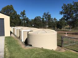 25,000L water tanks