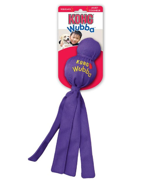 Kong Wubba Dog Tug of War and Fetch Toy