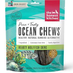 Dehydrated Fish Skins Dog Chews