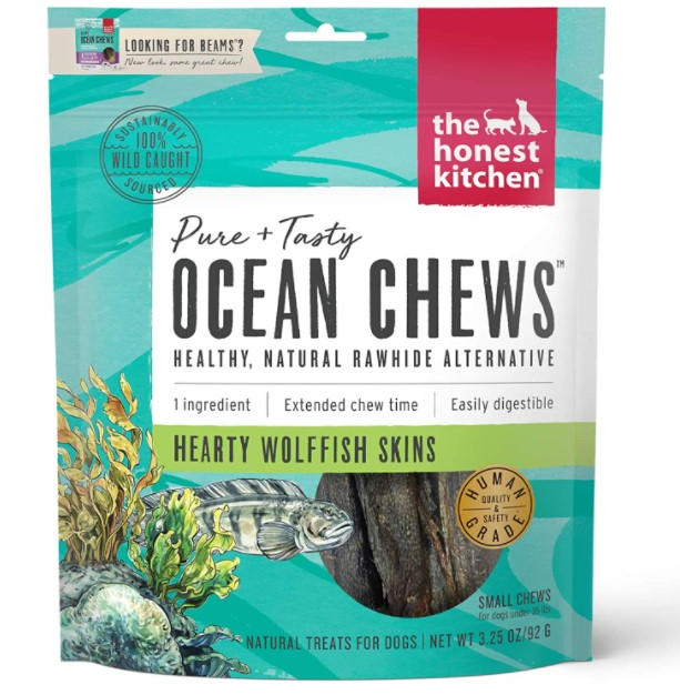 Dehydrated Fish Skins Dog Chews