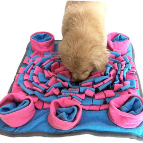 Snuffle Mat for Dogs Slow Feeding,Encourages Natural Foraging Skills Nosework Training,Puppy Interactive Treat Puzzle Toy