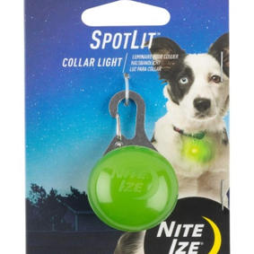 Nite Spot LED Light Tag for Dog Collar