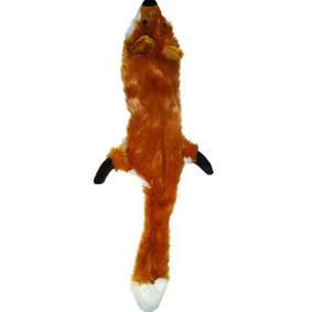 Stuffingless Dog Squeaking Tug Toy
