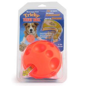 Omega Paw Tricky Treat Dispensing Ball