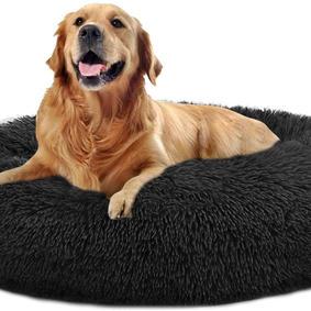 XXL Comfortable Pet Bed Faux Fur Donut Cuddler Up t