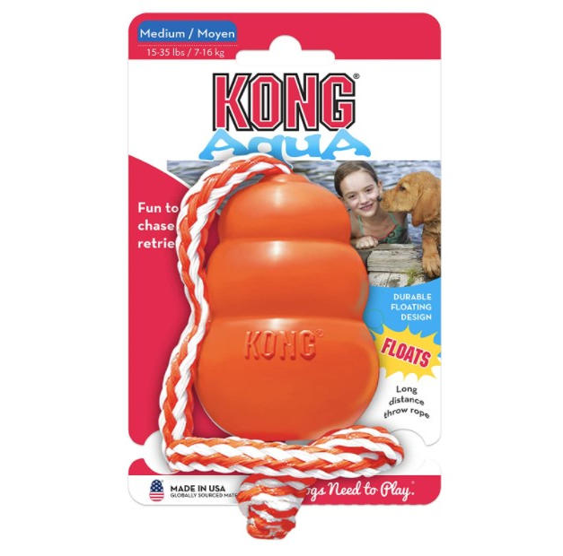 Kong Aqua Floating Fetch Toy for Water P