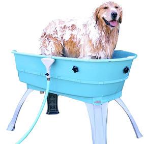 PortablePET 3040 Booster Bath Blue Large Dog Wash