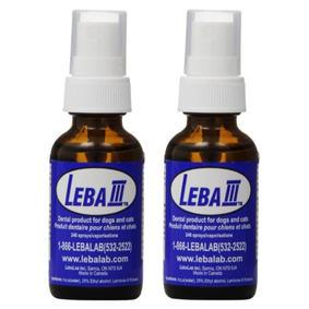 Leba III Dental Plaque Remover Spray