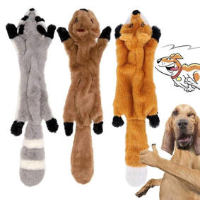 3 Pack Stuffingless Dog Toy Tugs