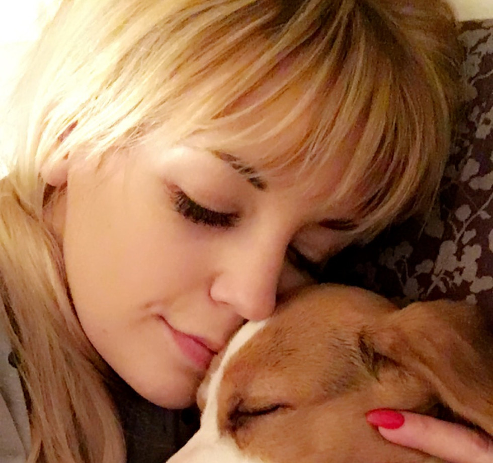 Beagle cuddles