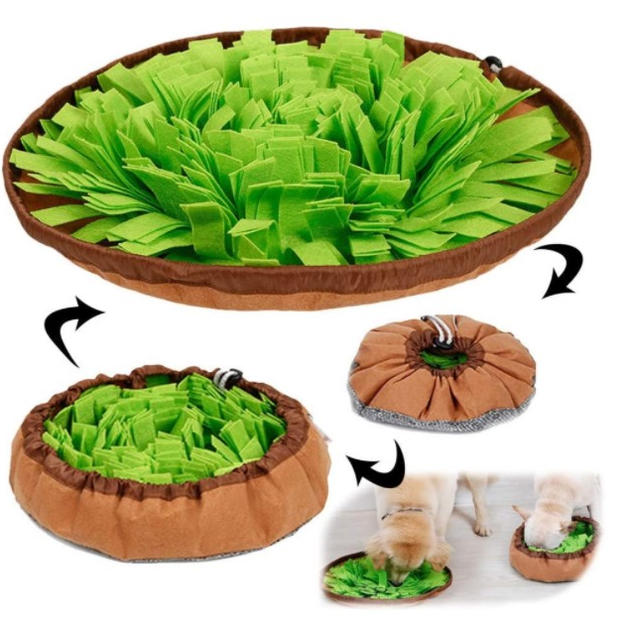 Pet Snuffle Mat Dog Puzzle Interactive Toy