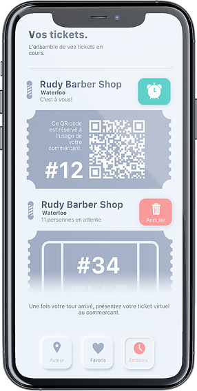 Mockup App Ticketing