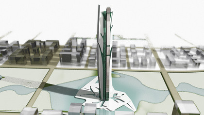 mixed-use panoramic  tower