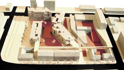 mixed-use urban block