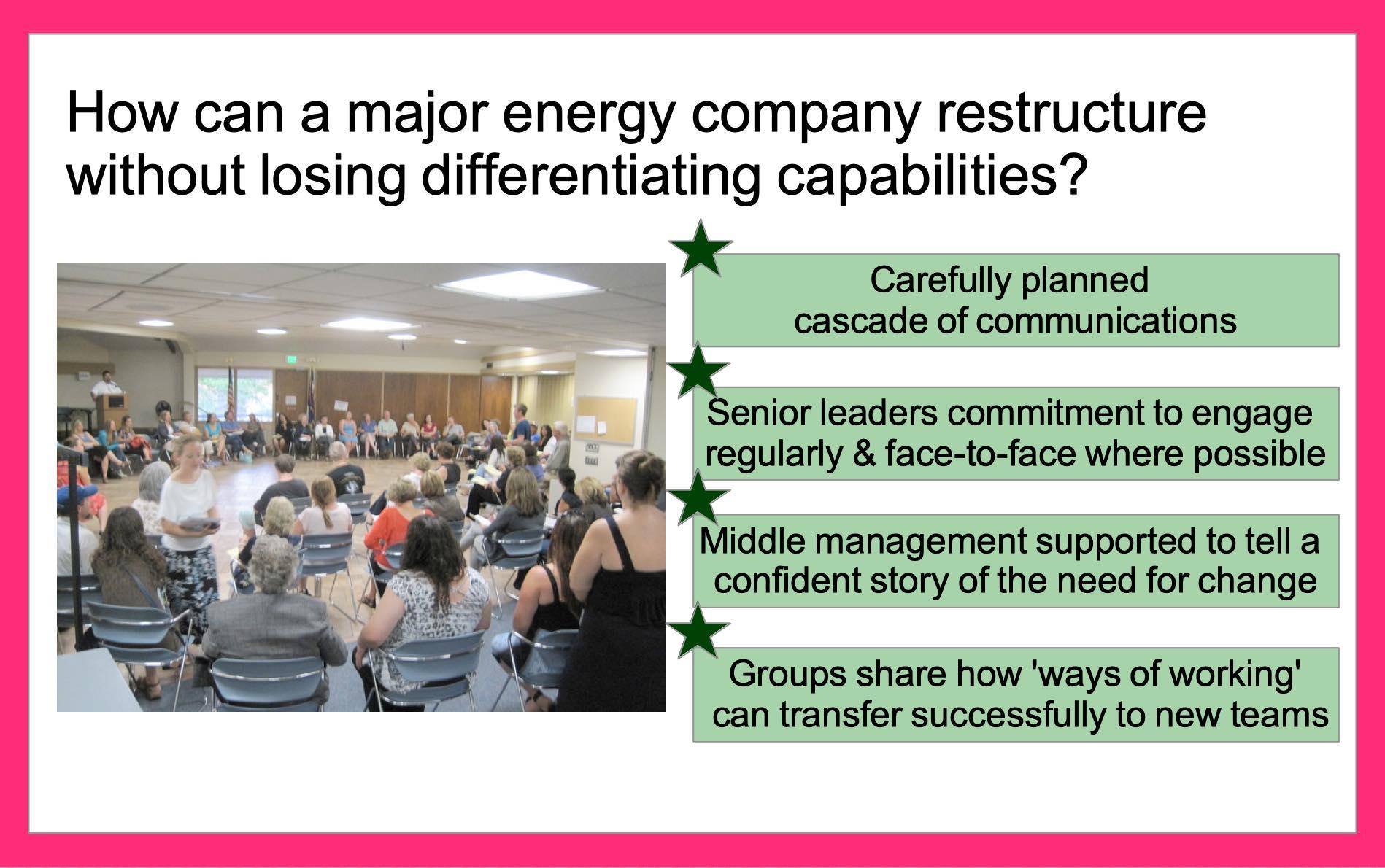 3 Retaining capabilities