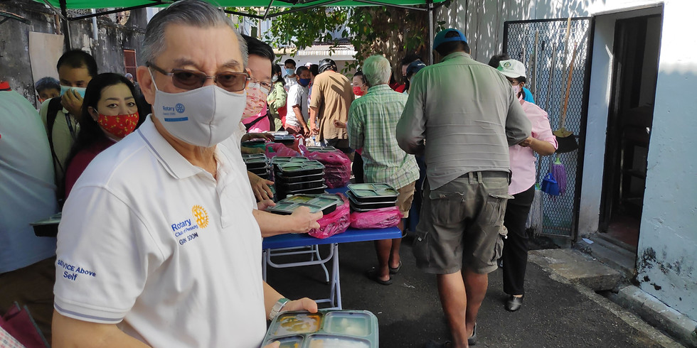 Annual CNY Charity Programme for the underpriviledged Senior Citizens