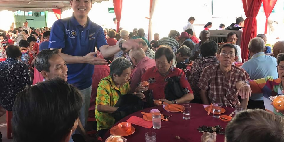 Chinese New Year Charity Dinner for Senior Citizens
