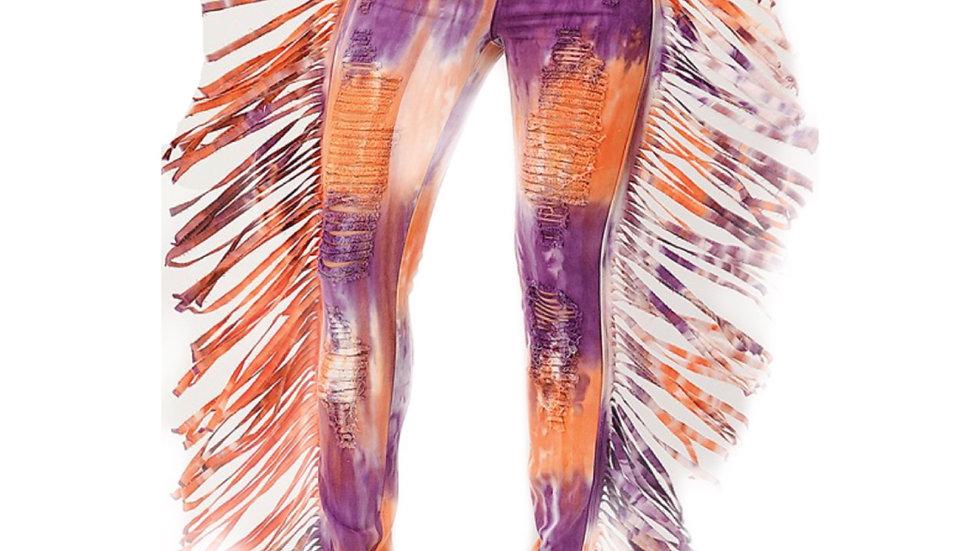 Wild Multi Color Jean