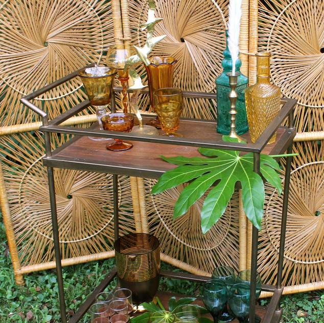 Simple Bar Cart Gold