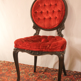 Red Parlor Chair