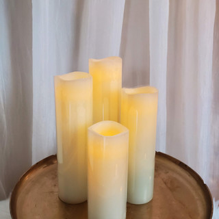 Realistic Candles and Flameless Candlesticks