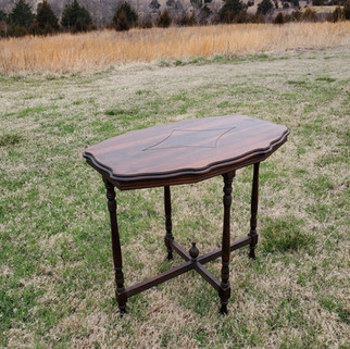 Tall Antique Table
