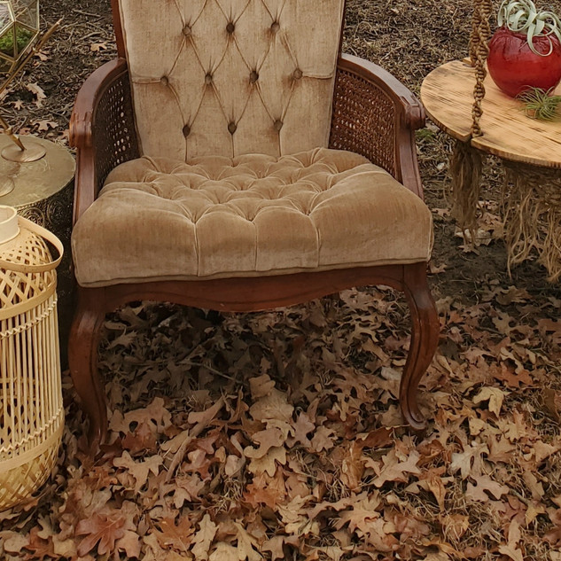 Taupe Highback chair