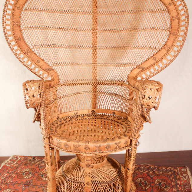 Medium Extra Wide Peacock Chair
