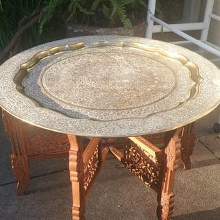 Turkish Brass Coffee Table